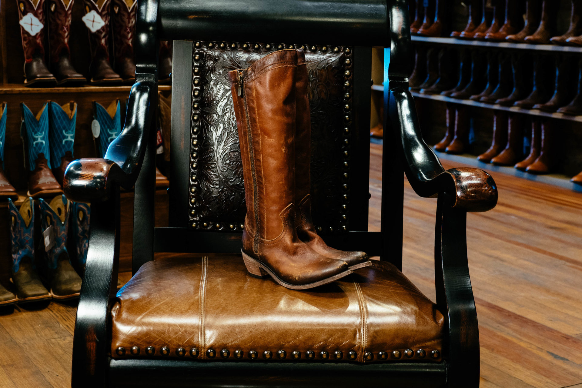 Liberty Black Boots: Unique Cowboy Boots for the True Western Gal