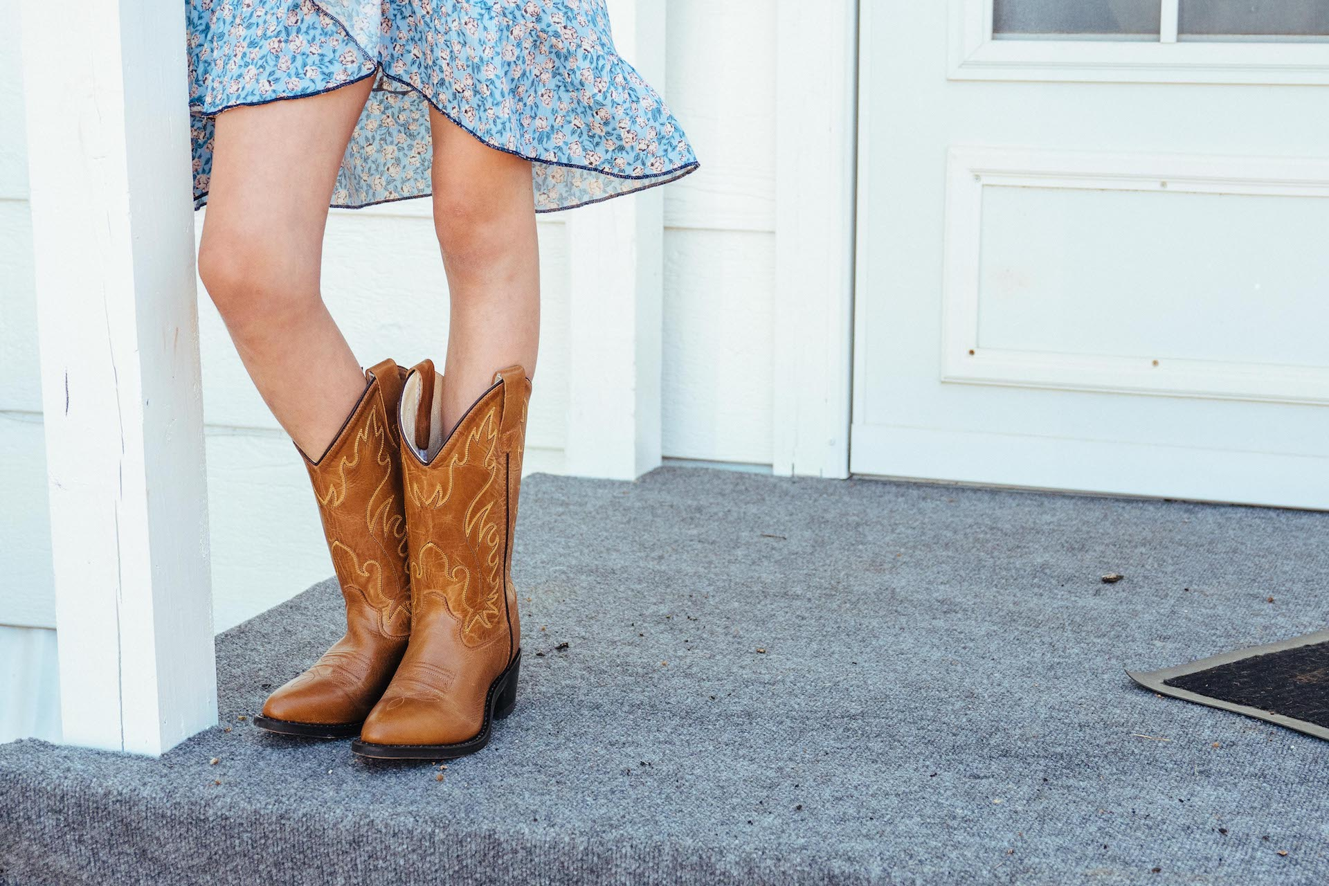 How to ankle wear cowboy boots pictures